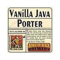 Atwater Block Brewery - Vanilla Java Porter