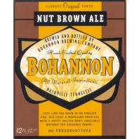 Bohannon Brewing Company - Nut Brown Ale