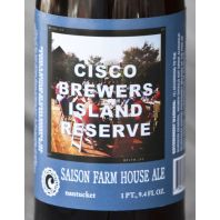 Cisco Brewers - Island Reserve Saison Farm House Ale