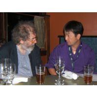 Michael with Toshi Ishii
