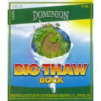 Old Dominion Brewing Company - Big Thaw Bock