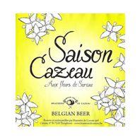 Brasserie de Cazeau - Saison Cazeau