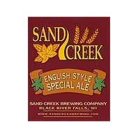 Sand Creek Brewing Company - English Style Special Ale