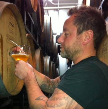 Gabe Fletcher of Anchorage Brewing Company