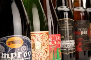 Various Bottles of Rare Beer