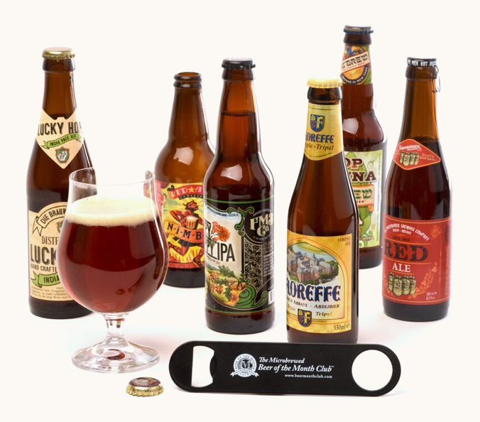 Beer Gift Ideas Gifts For Craft Beer Lovers Beer Of The Month Club